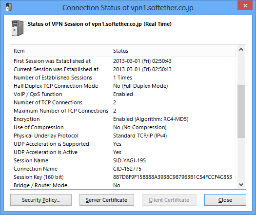 45 Connect to VPN Server SoftEther VPN Project
