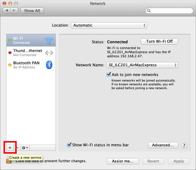 Vpn yhteys macbook