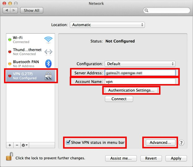 """2 thoughts on """"Replace the VPN Server from macOS Server"""""""