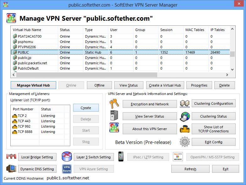 SoftEther VPN Server - SoftEther VPN Project