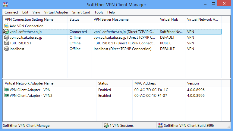 Free vpn server and client software